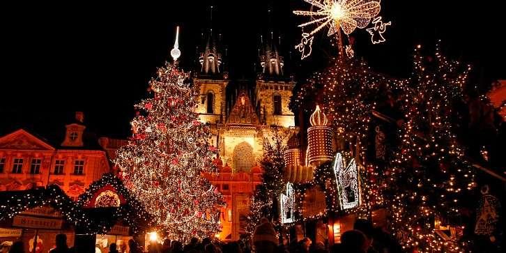 Новогодние огни Европейских столиц