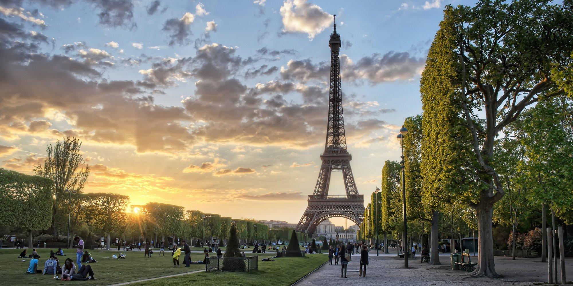 Эйфелевая Башня, Париж, Франция
