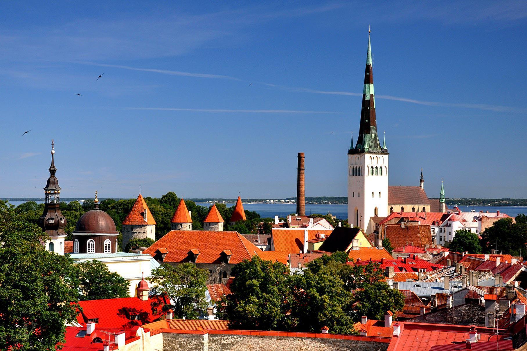 Панорама Таллина, Эстония