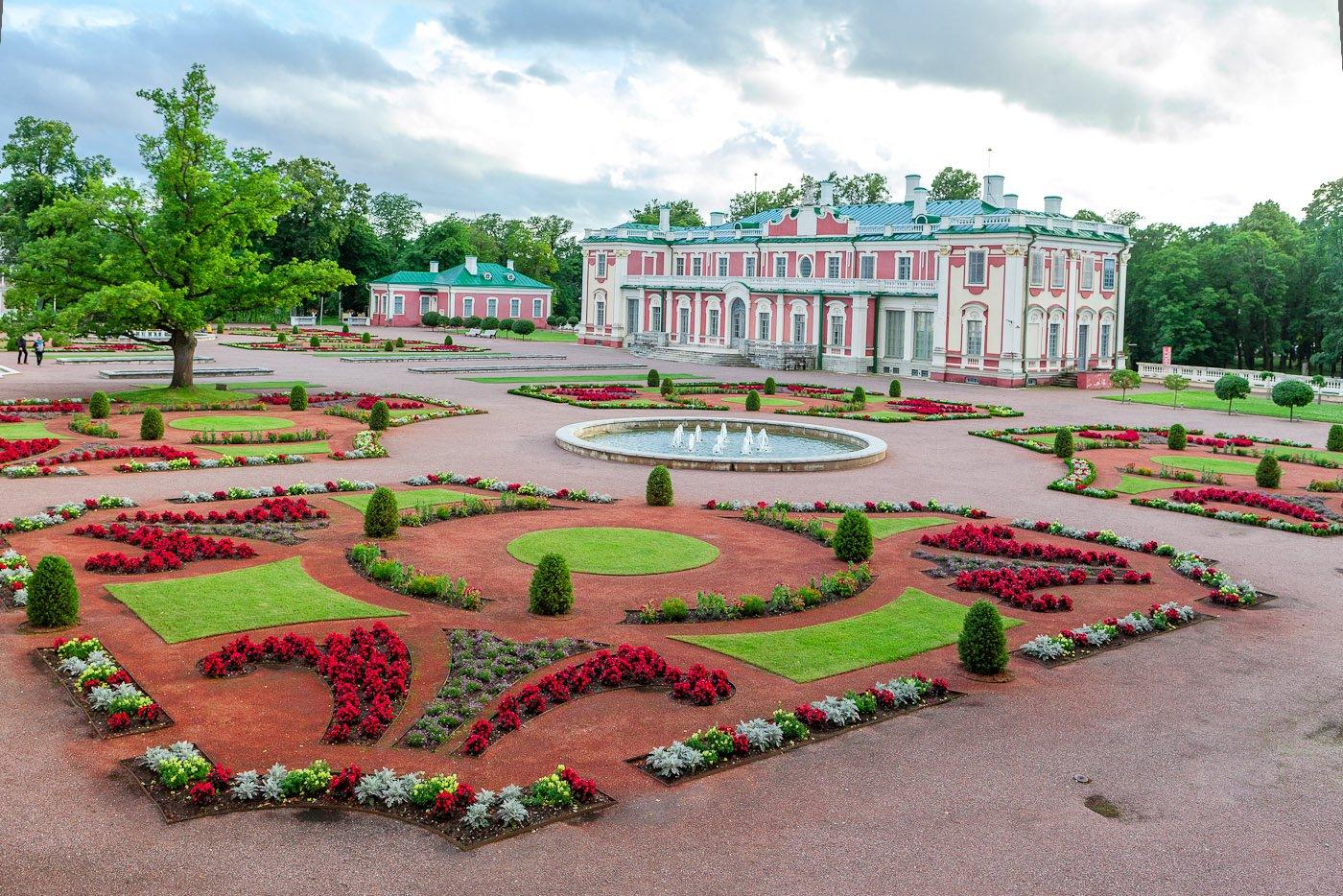 Дворцовый парк Кадриорг, Таллинн