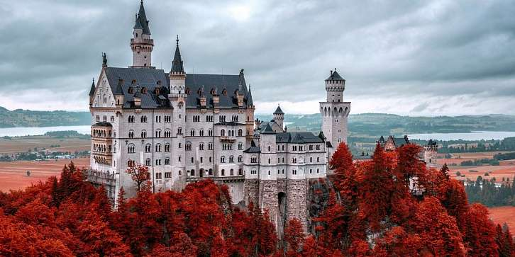 Турне по Южной Баварии и романтическая дорога