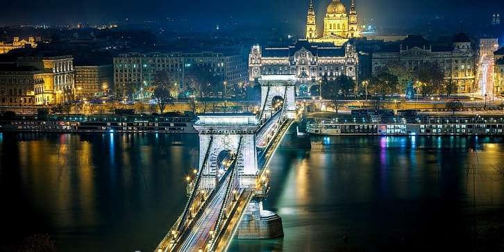 Венгрия - Австрия - Чехия. Зима-Весна