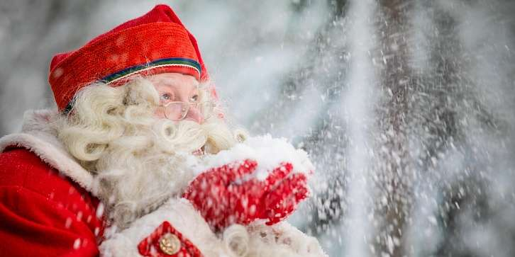 Новогоднее путешествие в Лапландию к Санта-Клаусу