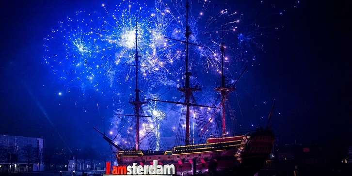 Новый год в Амстердаме