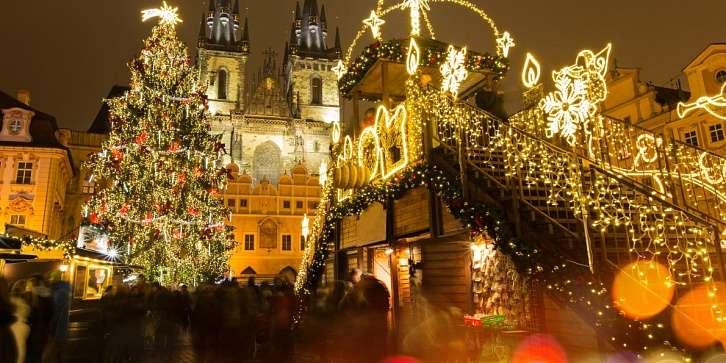 Встреча Рождества в Праге